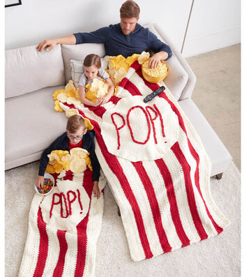 How To Make A Pop Pop Popcorn Crochet Snuggle Sack