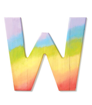 How To Make A Dyed Wood Letter