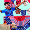How To Make a Patriotic Flag Bunting