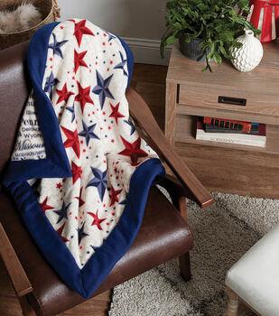 How To Make a Wide Border Fleece Blanket
