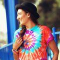 Festival-Ready Tie-Dye Bandana & T-shirt