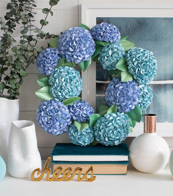 How To Make A Lia Griffith Hydrangea Wreath