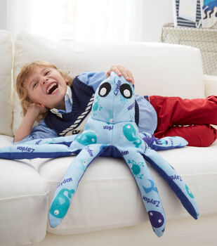 How to Make a Personalized Plush Octopus