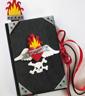 3-D Tattooed Journal Cover