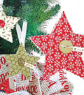 Simple Quilted Ornaments