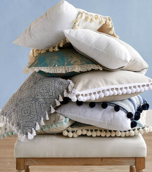 How To Make Pillows with Trim