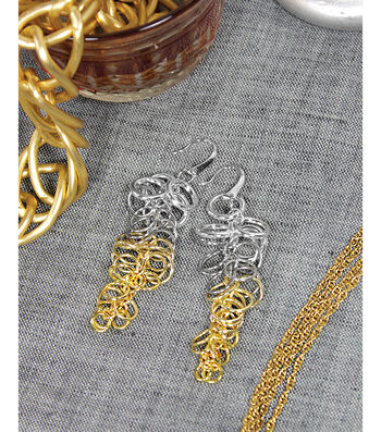 Multi Rings Ombre Earrings