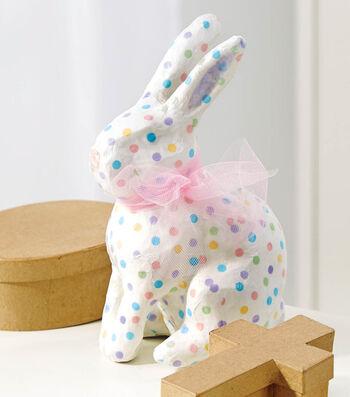 Decoupage Paper Mache Bunny