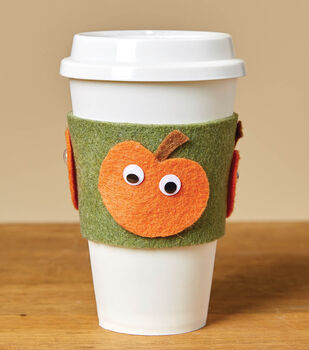 How To Make a Googly Eyes Coffee Sleeve