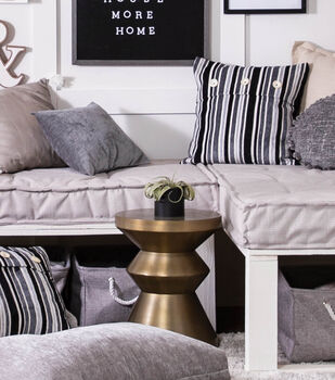 How To Make a Tufted Box Cushions