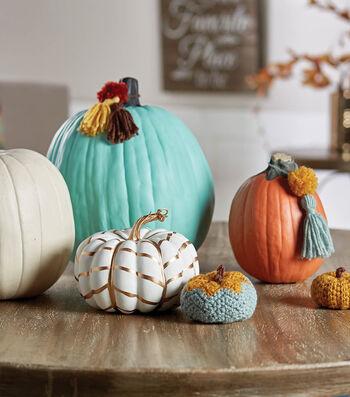 How To Make Yarn Pumpkin Tassels