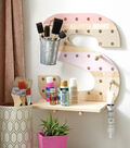 How To Make a Letter Shaped Pegboard