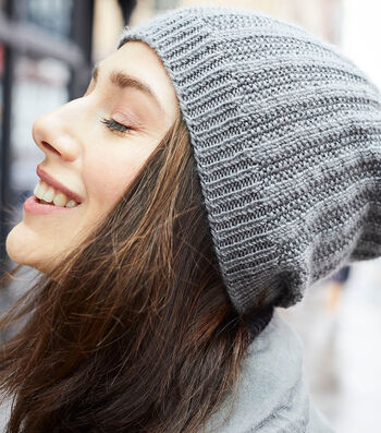 How To Make A Lion Brand Touch of Merino Seed Rib Hat