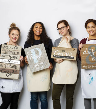 How To Make Paint Party Pallet Signs
