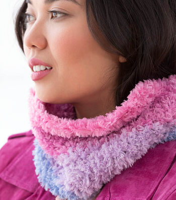How To Make A Lion Brand Spinella Wildwood Cowl
