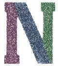 Glass Glitter Initial