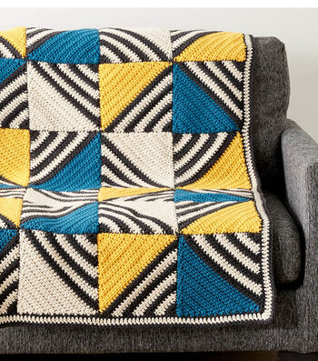 Crochet A Tilt A Whirl Afghan