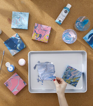 How To Make a Paint Poured Art