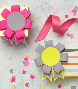 Make Paper Prize Ribbons