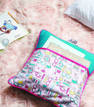 How To Make A Book Pocket Pillow