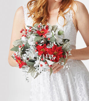 How To Make A Winter Wedding Bouquet