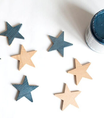 How To Make  A Winter Star Garland