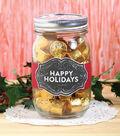 Happy Holidays Treat Jar