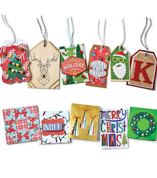 How To Make Cricut Christmas Cards & Tags