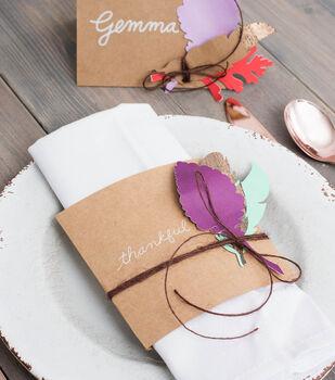 How To Make  Thanksgiving Themed Napkin Holders