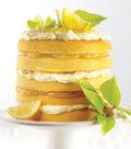 Citrus Burst Layered Cake