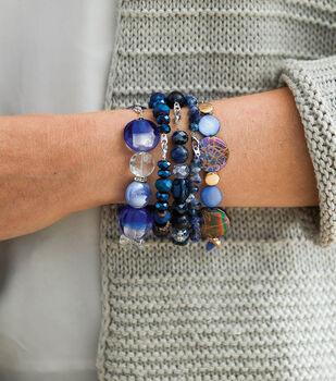 How To Make Blue Mood Stackable Bracelets