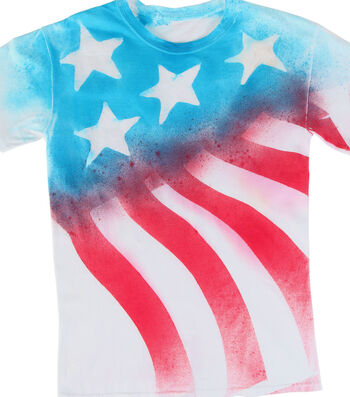 How To Make a Stars and Stripes Forever T-Shirt