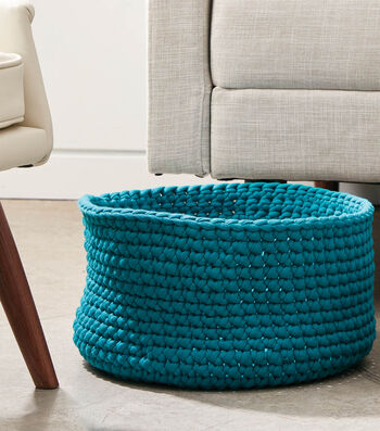 How to Make Simple Crochet Baskets