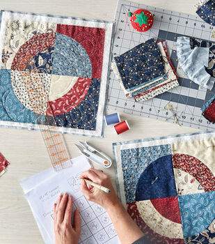 How to Make a Circle Quilt