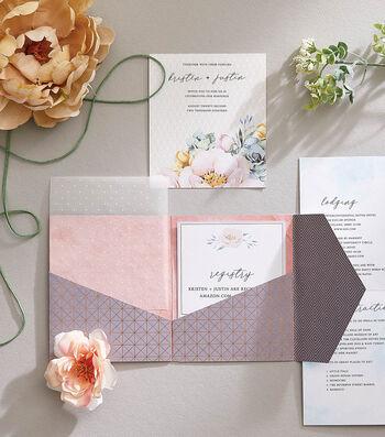 How To Make a Pocket Wedding Invite