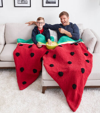 How To Make A Watermelon Wedge Knit Snuggle Sack