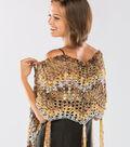 Precious Metallic Shawl to Crochet