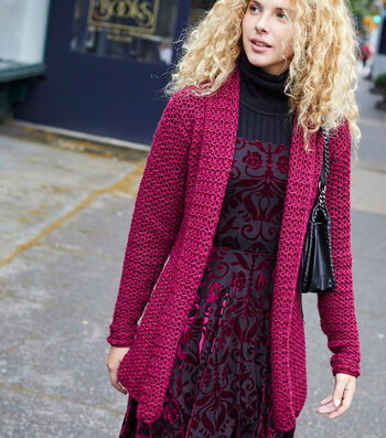 How To Make A Lion Brand Touch of Merino Cranford Cardigan