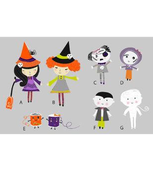 Halloween Characters Printable 1
