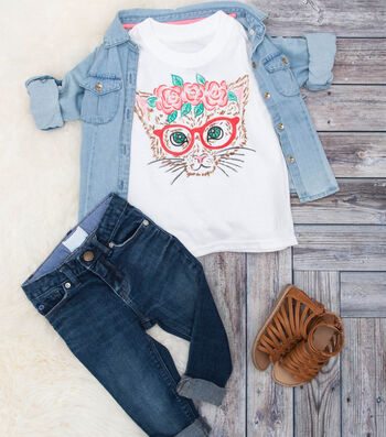 How To Make A Flower Crown Cat T-Shirt