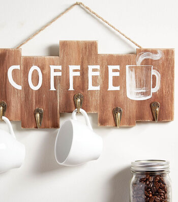 Make a Coffee Rack