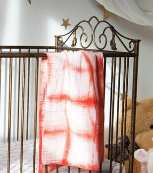 How To Make a Shibori Baby Swaddling Blanket