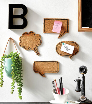 How To Make Cork Conversation Bubbles