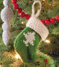 Stocking Ornament with Tree