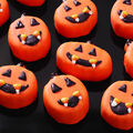 Mini Jack-O-Lantern Cakes