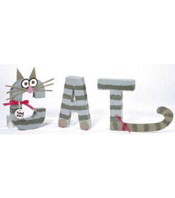 CAT Letter Art