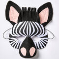 How To Make A Zebra Mask