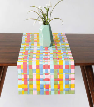 How To Make a Woven Fabric Table Runner
