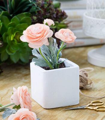 Bloom Room Square Ceramic Floral Arrangement