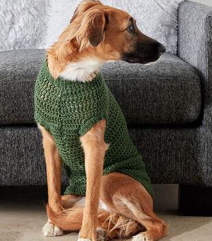Crochet A Dapper Pup Sweater